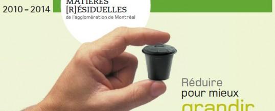 Plan directeur de gestion des matières résiduelles de l'agglomération de Montréal (PDGMR)